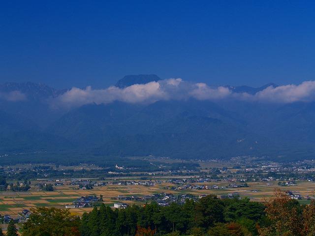池田町美術館からの風景