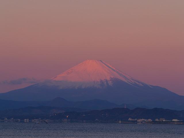 江ノ島の富士