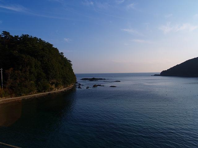 海浜ホテルの眺め