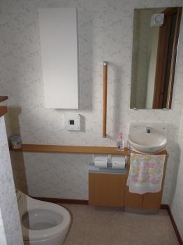 賑わってきたトイレ