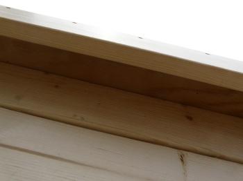 犬小屋の屋根