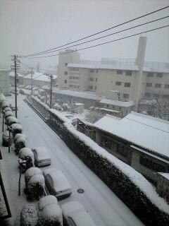 雪景色名古屋