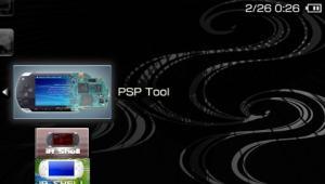 PSP Tool v0.9 スクリーンショット