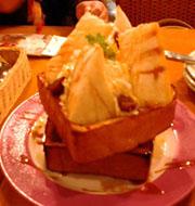 モンブランフレンチトースト