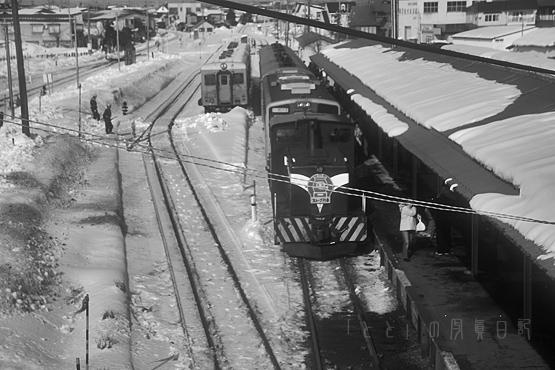 五所川原で機関車