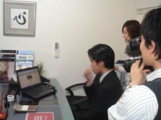 NHK4月8日撮影web