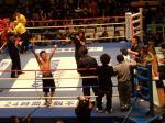 伴流ボクシングジム芹江選手の勝利