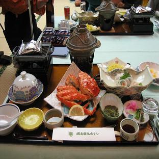 北海道旅行(夕食)1