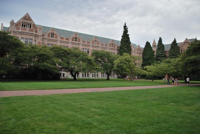 ワシントン大学内
