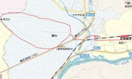 myou明王山map