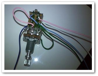 ZO-3のトーンスイッチ配線