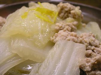 白菜のオイスターソース煮