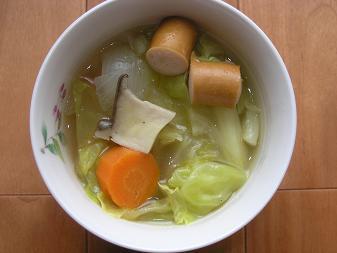 キャベツスープ