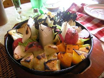 しゃらんどらーは 季節の野菜