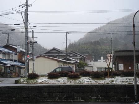 今日は雪2