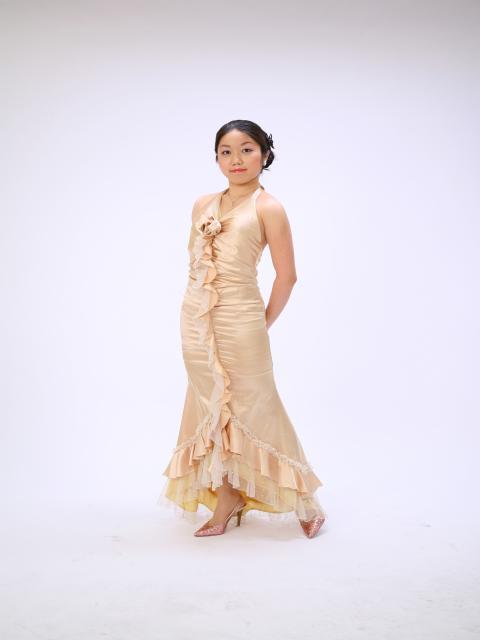 葉子ドレス