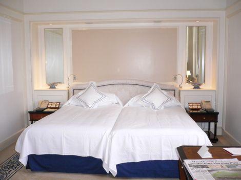 ペニンシュラホテル ベッドルーム
