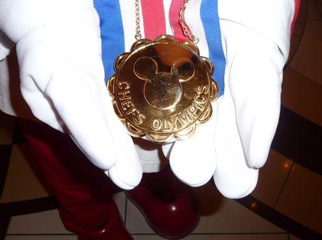 ミッキーの金メダル