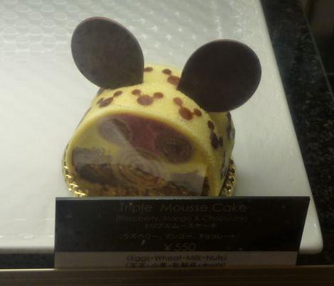 トリプルムースケーキ