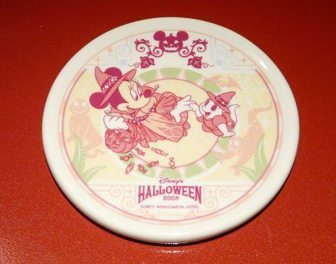 ハロウィン陶器製コースター
