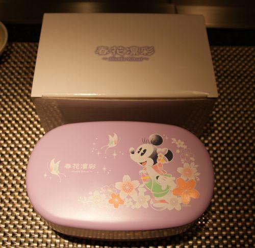 ミニーちゃんのランチボックス1