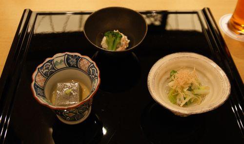 前菜三種類