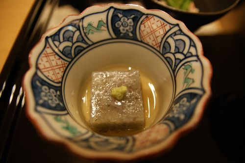 山菜のお豆腐