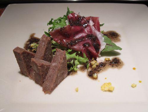 イベリコ豚プロシュートのサラダ
