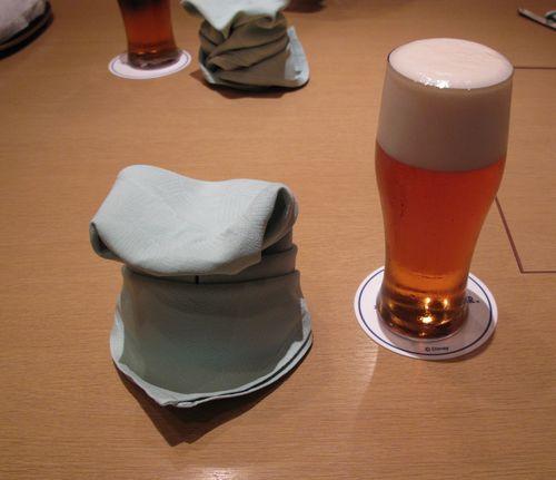 30日花膳 ビール