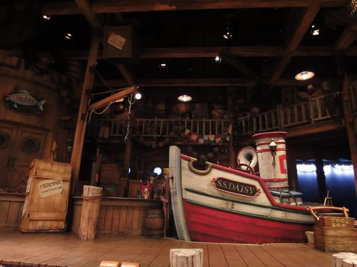 ボートビルダー舞台