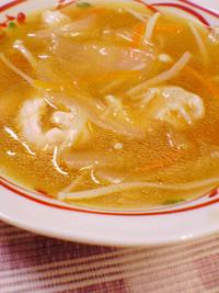 鶏と山芋のとろみスープ