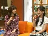 さんまのまんま ぷちトーク!フジ女子アナ 皆藤愛子と杉崎美香