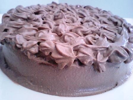 簡単!豆腐チョコケーキ♪