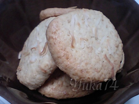 ココナッツクッキー♪