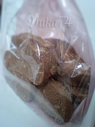 ココアアーモンドクッキー♪