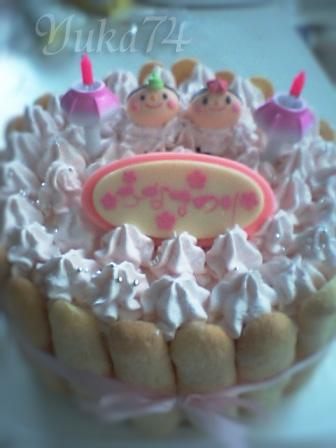 ☆ひなケーキ☆