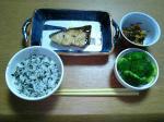 昨日の晩御飯