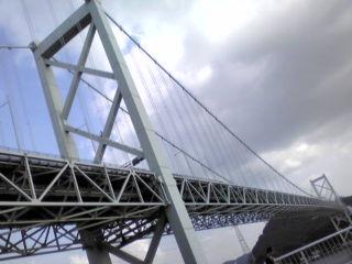 『壇ノ浦』からの関門橋①