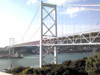 『めかり』からの関門橋①