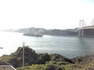『めかり』からの関門橋②