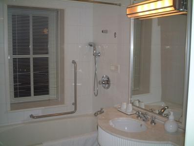 浜名湖のホテル(バスルーム)♪