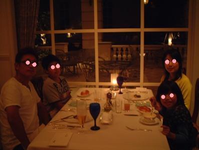 浜名湖のホテルにて(レストラン)♪