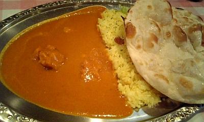 インド料理アルナのチキンカレーセット♪