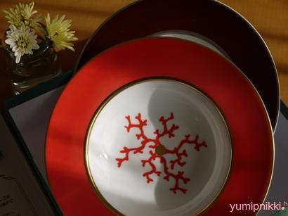 プレゼントのお皿♪