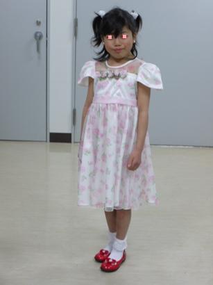 発表会のドレス♪'09
