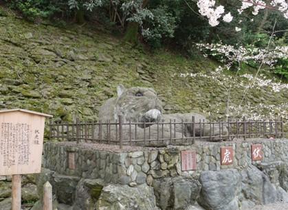 和歌山城の伏虎♪