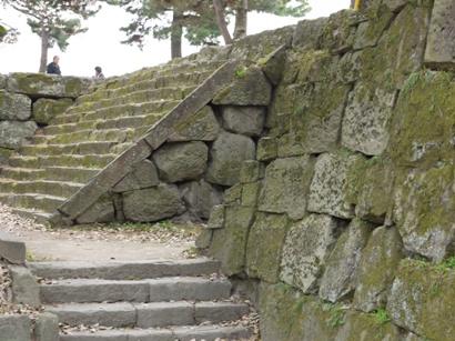 和歌山城壁♪