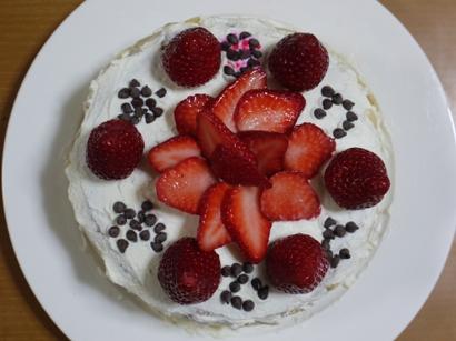 娘9歳のお誕生日ケーキ♪
