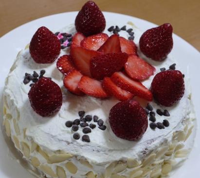 娘9歳のお誕生日ケーキ☆