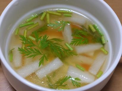 大根と人参のスープ♪